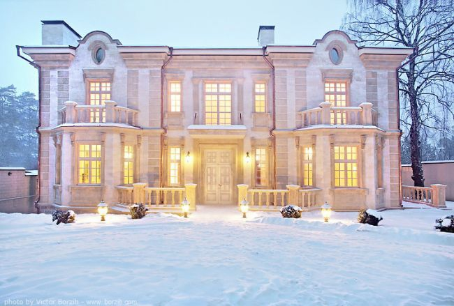 Beautiful Houses for Rich Russian People от Helen за 28 nov 2012
