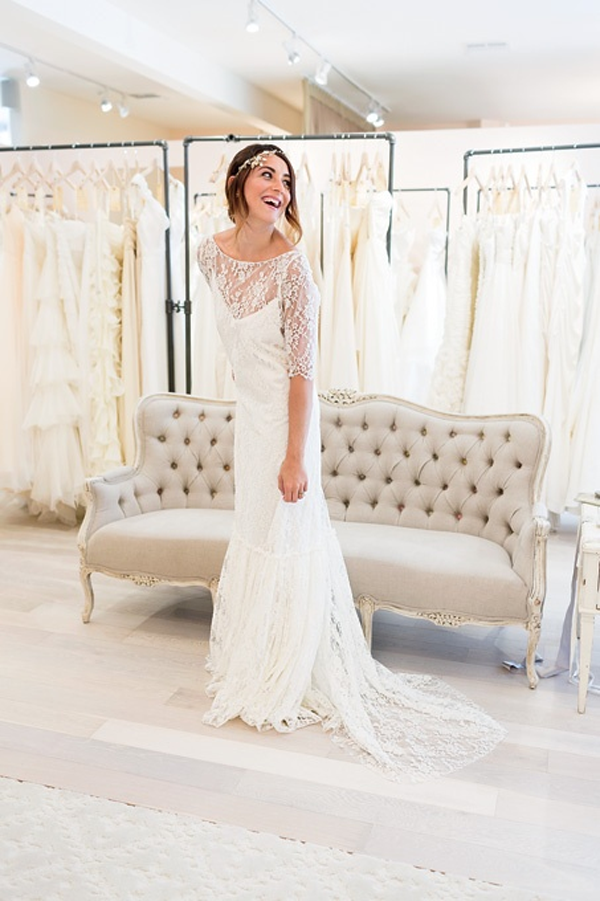 Bridal Dresses With Sleeves Are IN