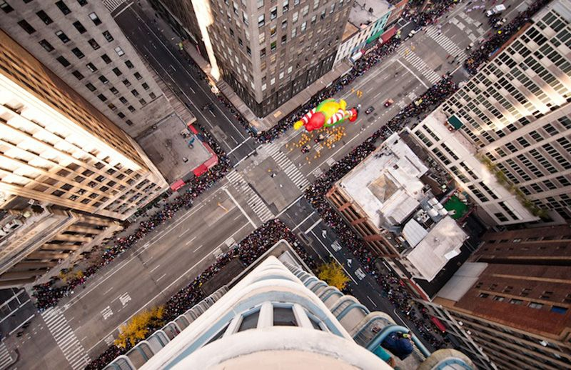 Aerial Pageant of the Thanksgiving Parade