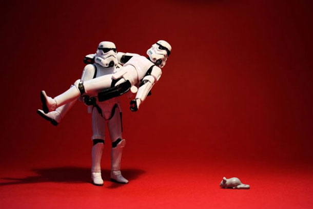 A Day In The Life Of A Stormtrooper Couple