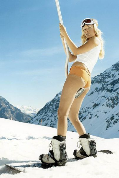 Winter Is Cold, These Ski Bunnies Are Hot!