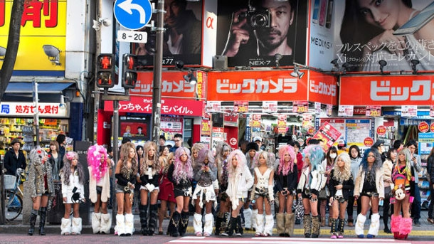 Strange Fashion From The Streets Of Japan