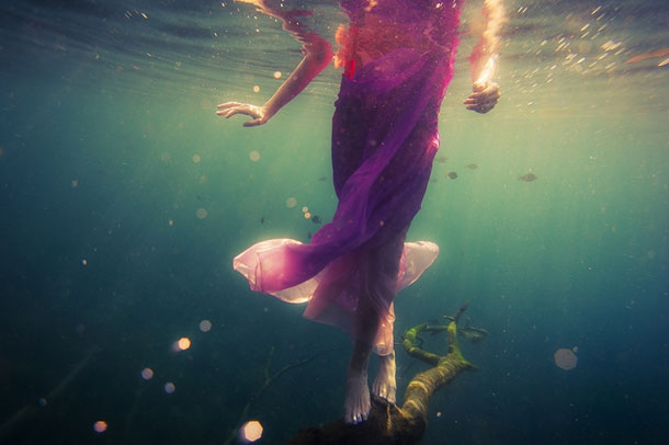 A Hauntingly Beautiful Series Of Underwater Photographs