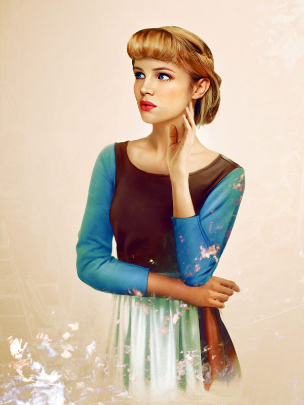 If Female Disney Characters Existed In Real Life by Jirka Väätäinen