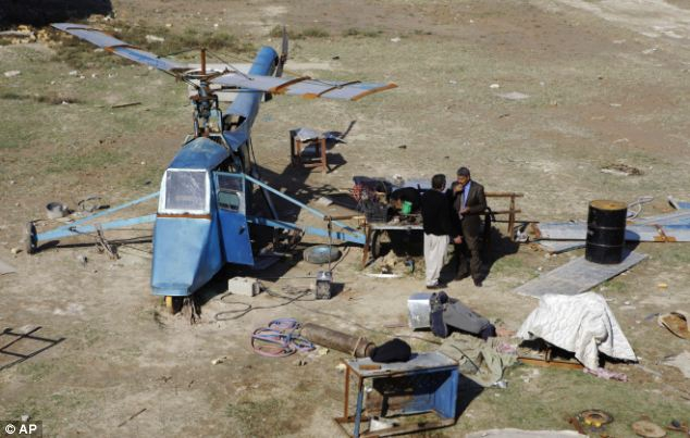 Helicopters: the Pride of Iraq