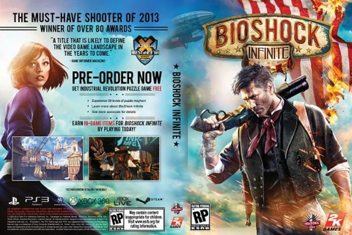 The Face of BioShock Infinite