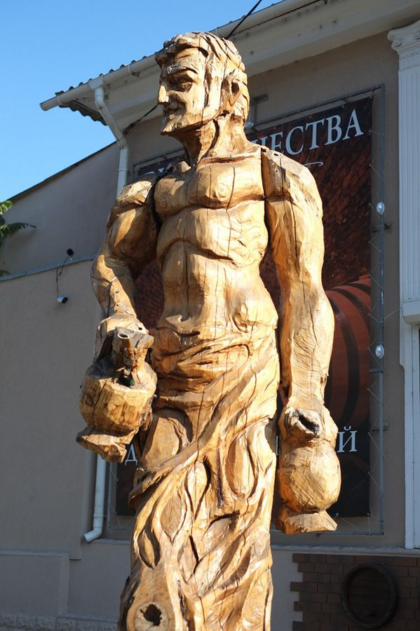 Sculptures Made of Wood