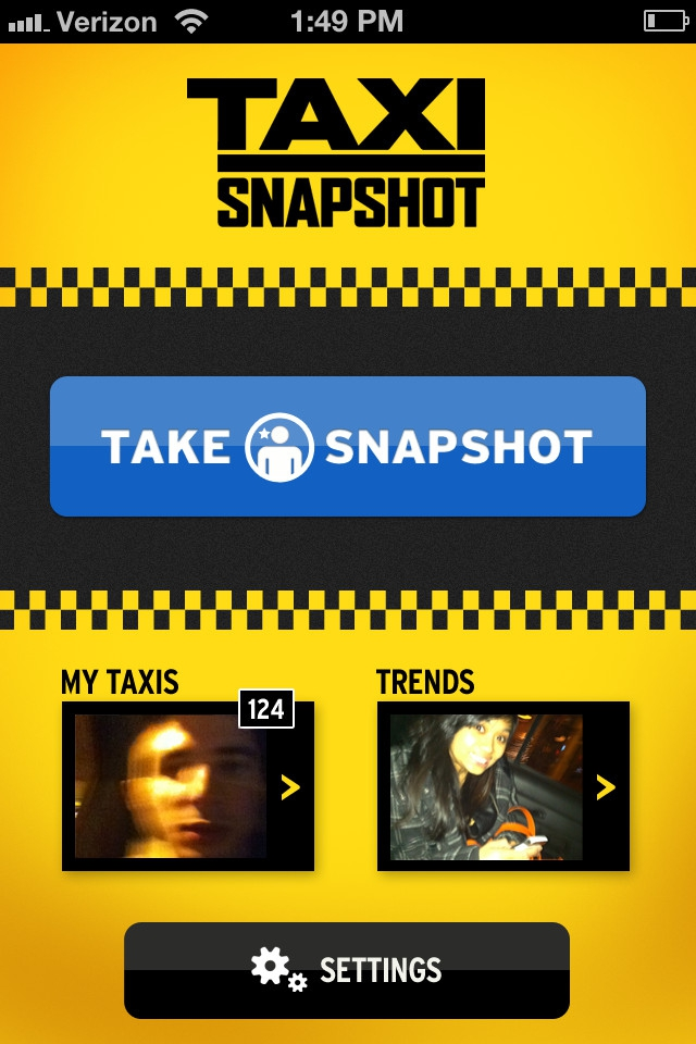 Taxi Snapshot Lets You Stalk Cab Riders