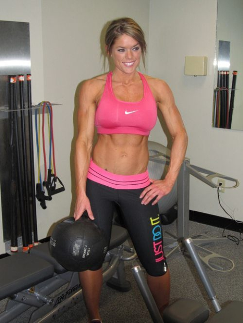 Time to Work out: Hot Fit Girls.