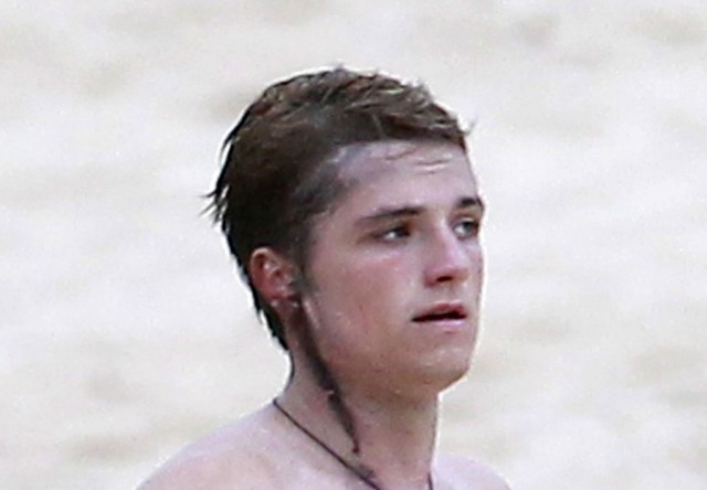 Shirtless Josh Hutcherson Photos You Begged For