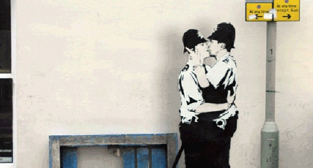 Brilliant Banksy Animated Gifs