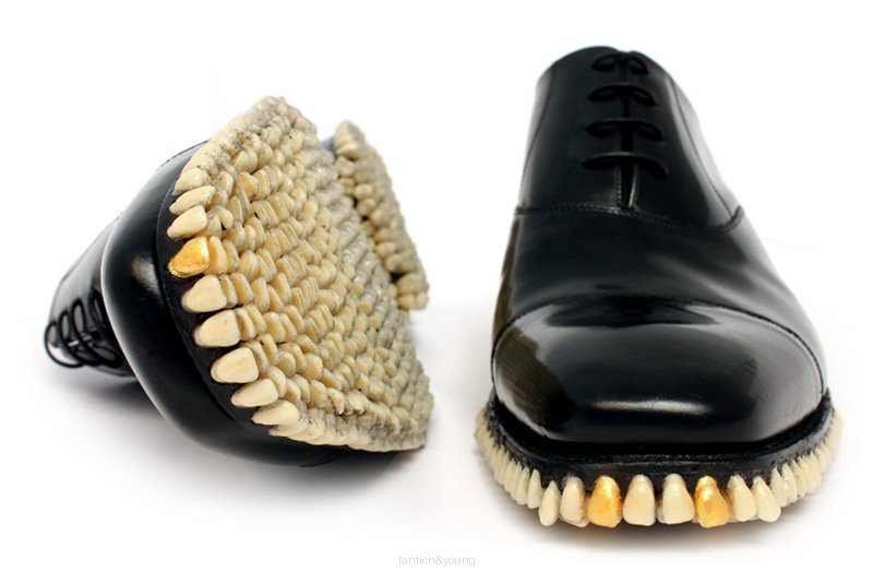 Shoes With Real Bite