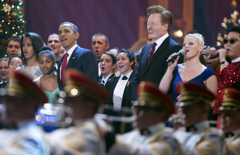 Obama Grooves to Gangam Style