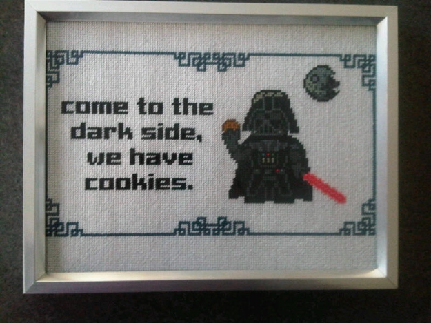 Amazing Pop Culture Inspired Needlepoint