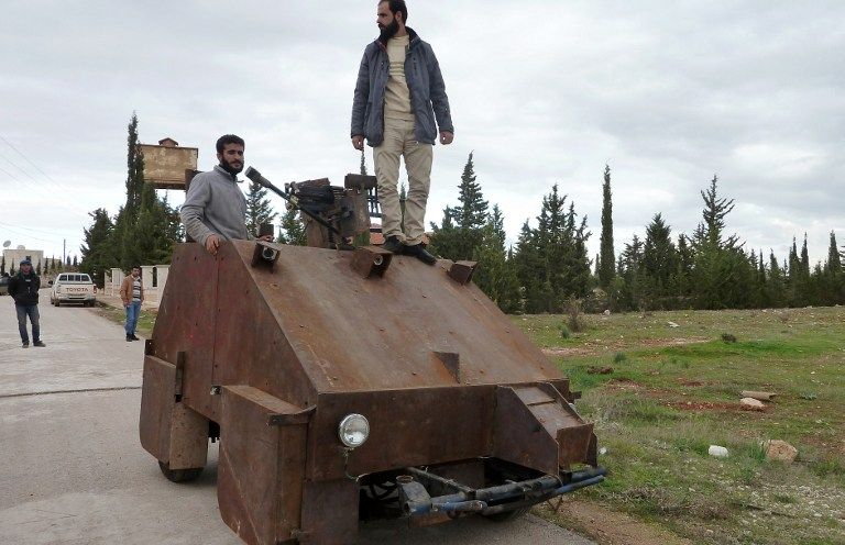 New Fighting Machine of Syria Rebels