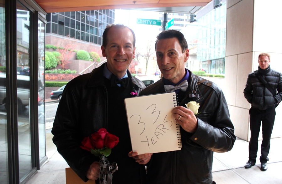 First Day Of Marriage Equality: Seattle