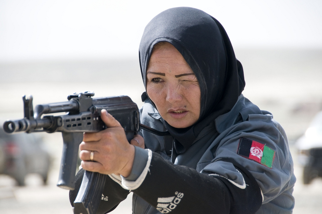 Women On the Afghan National Police Force