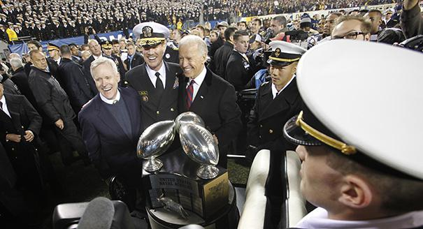 Biden Bro Goes to an Army-Navy Game