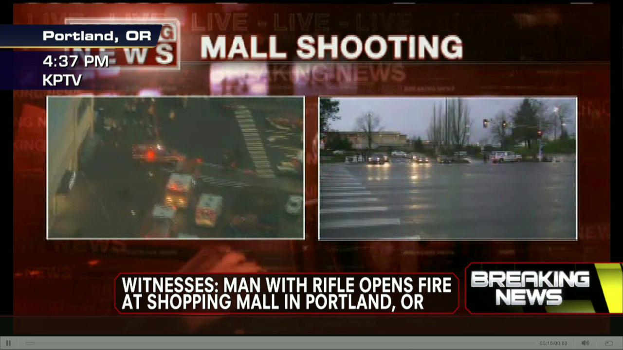 Another Mass Shooting, This Time in Portland