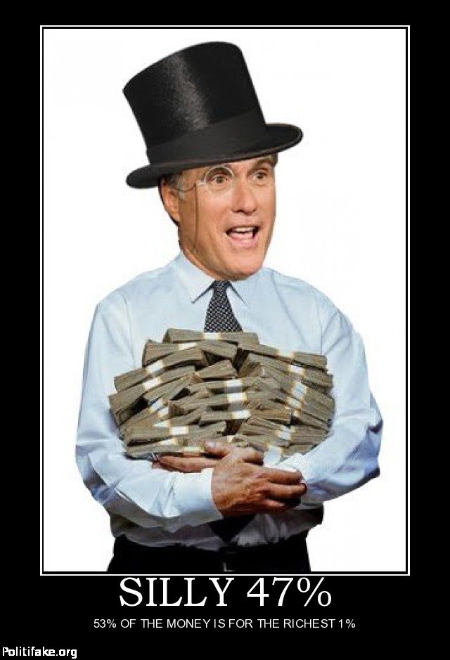 Mitt Romney & Hillary Clinton Rob the Same Bank