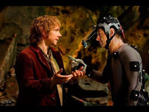 The Hobbit Scenes On Set