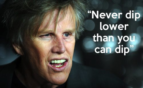 The Timeless Wisdom of Gary Busey