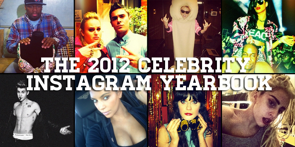Celeb Instagram Yearbook