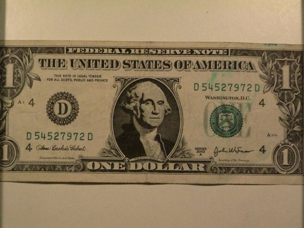 US Currency Defaced & Recreated