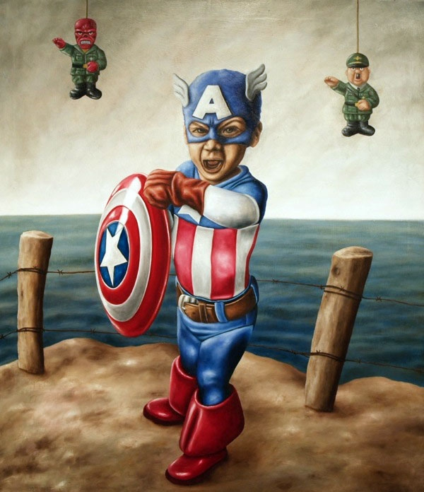 Devious & Dark Pop Culture Paintings By Camargo Valentino