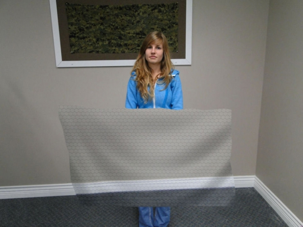 Prototype of Invisibility Cloak