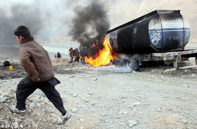 Taliban Siphon Off Fuel