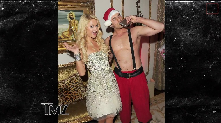 What is Paris Hilton Doing This Xmas?