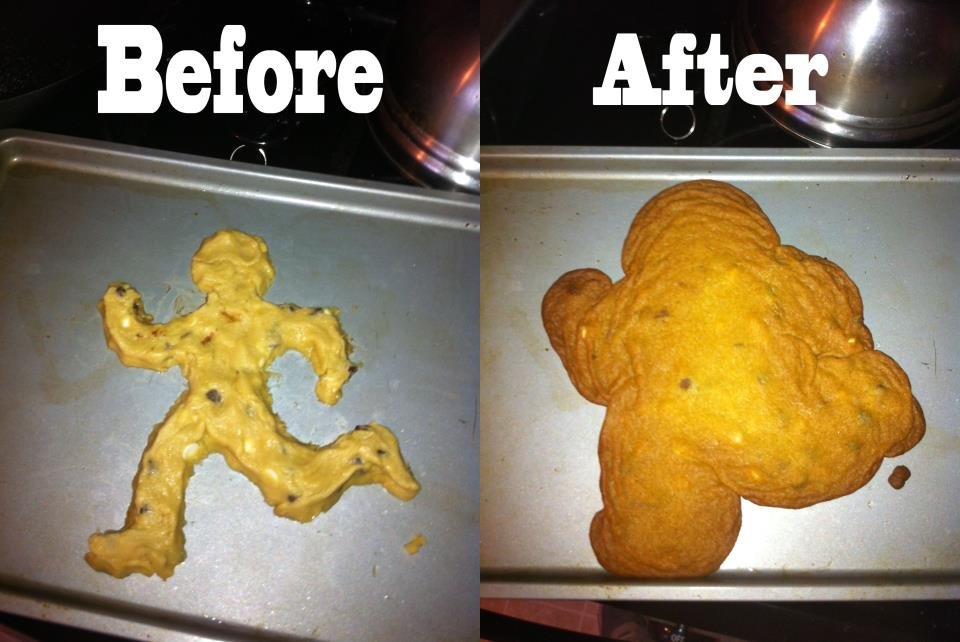 Bake Time FAIL