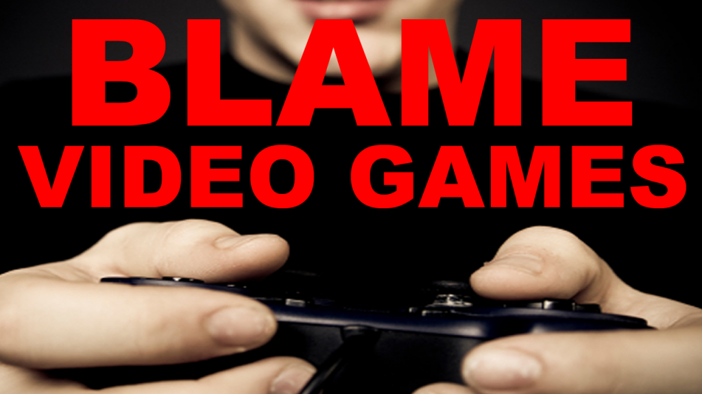 Blame Video Games For All the Violence...