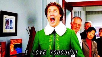 Elf. Because Will Farrell is the funniest man alive.
