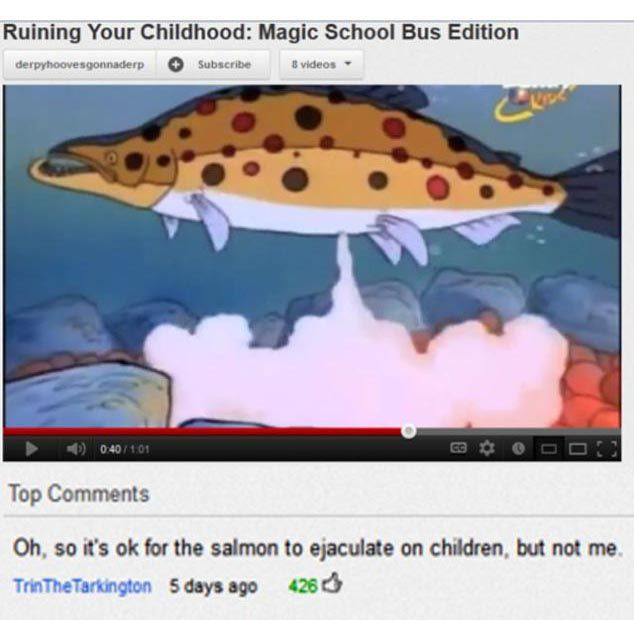 The Funniest YouTube Comments of 2012