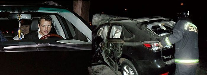 Celebs Car Accidents