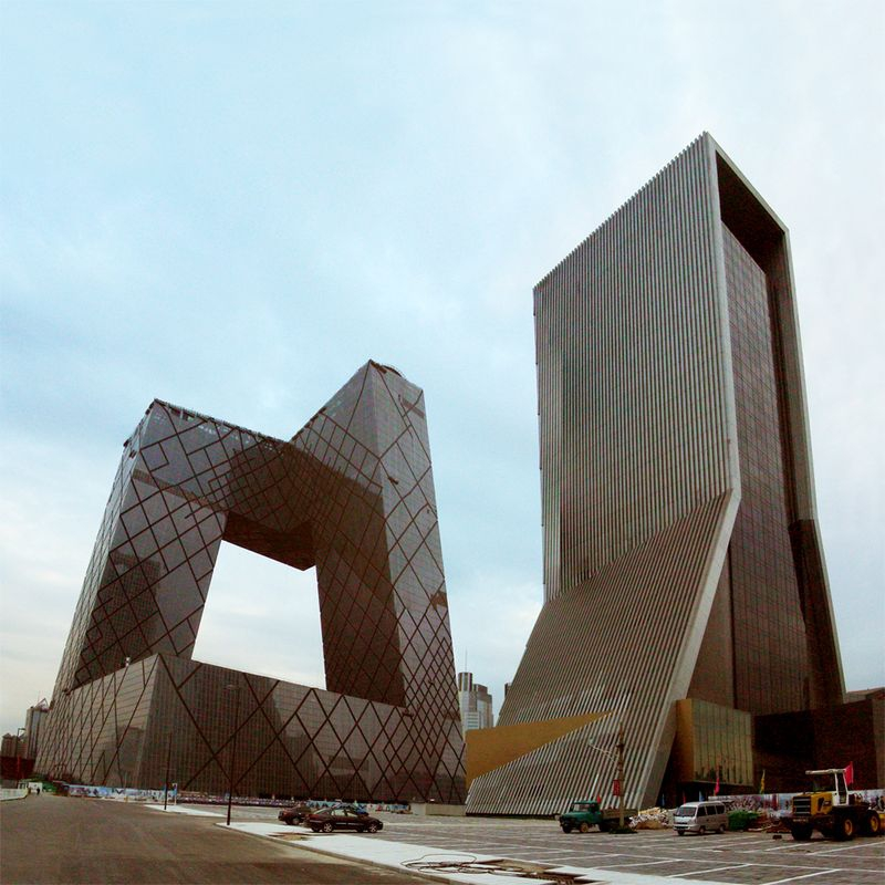 CCTV Headquarters in Beijing