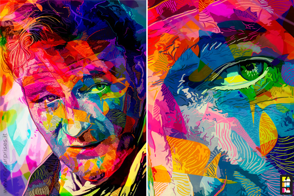 Hollywood Stars Blasted With Pop Art Colour | So Bad So Good