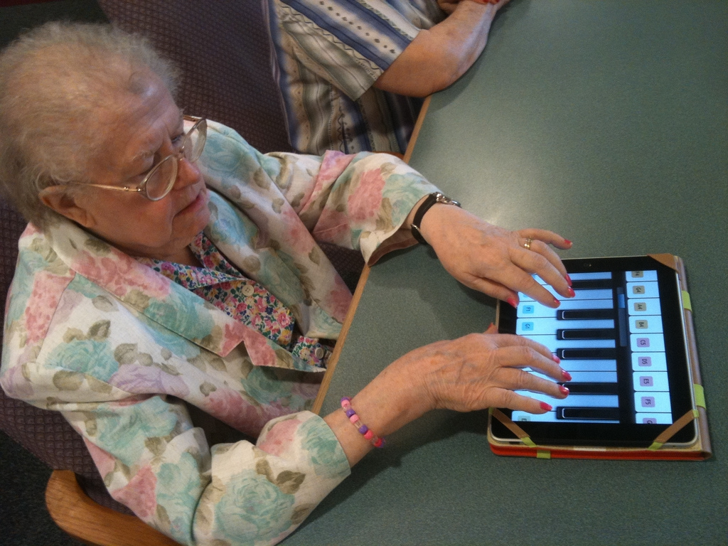 Old People Love Technology