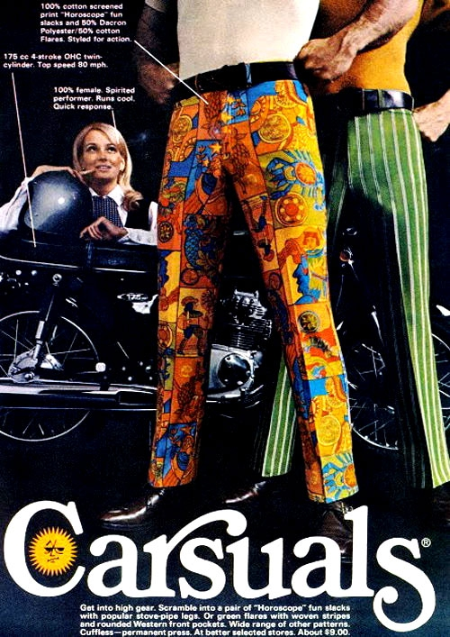 Ridiculously Funny Fashion Trends From The 1970's