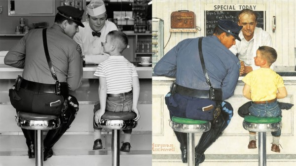 Norman Rockwell's Original Inspirations