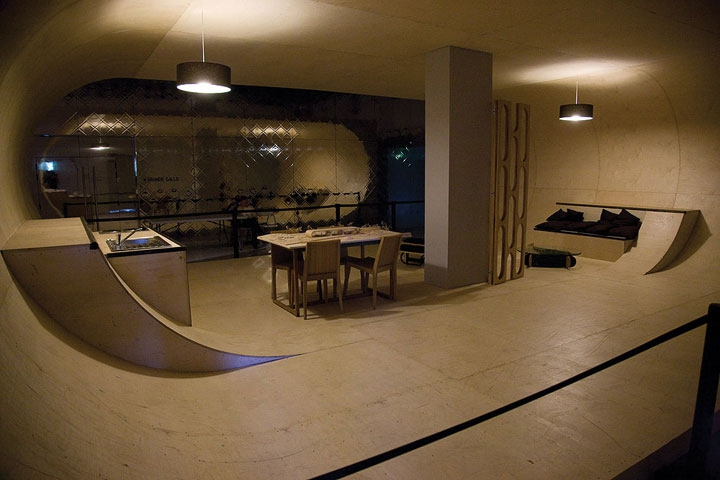PAS House: 100% Skate-able