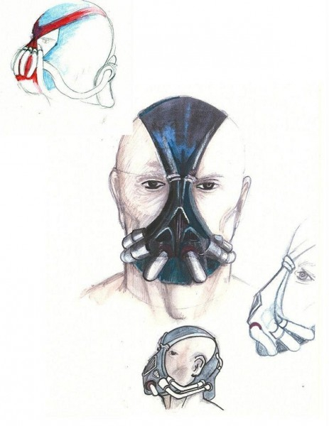 Fascinating Images Of 'The Dark Knight Rises' Concept Art