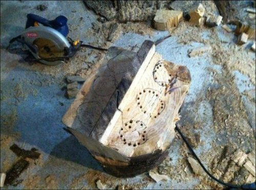 Best Use of a Log EVER!