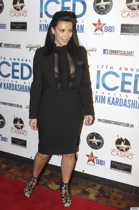 Kim's Weird Maternity Outfit of Choice