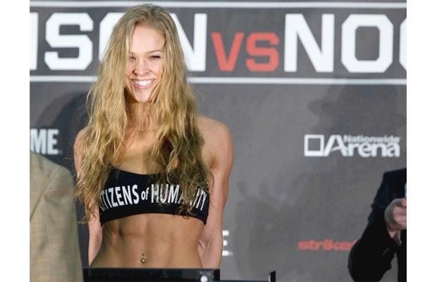 Striking will ultimately be Rousey's downfall.