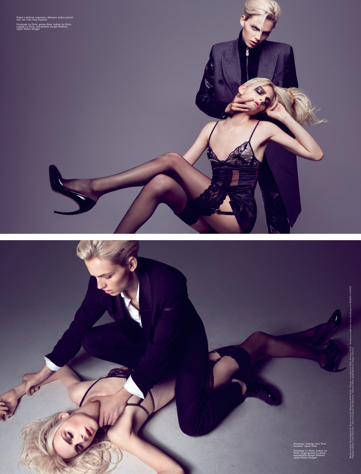 Andrej Pejic is the First Man On the Cover of Elle Serbia