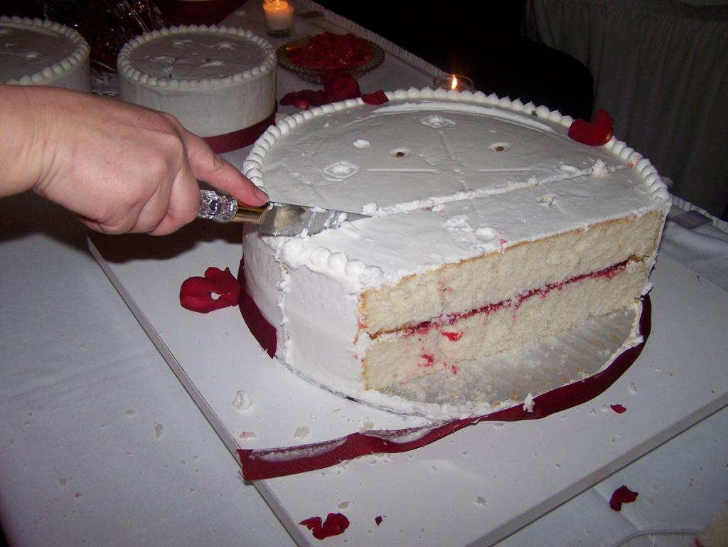 The only thing worth cutting is a slice of cake