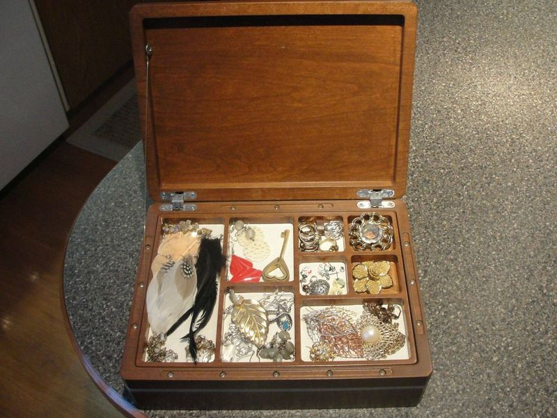 Jewelry Box with a Secret